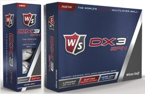 Wilson Staff Dx3 Spin Golf Balls