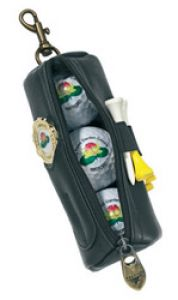 Golf Ball Gift Set Three Ball Pouch - PULG3