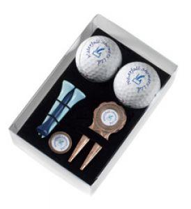 Golf Ball Gift Set Soft Box - SB2R