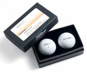 Titleist 2-Ball Business Card Box - TG2BC