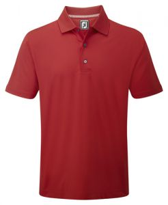 Footjoy Stretch Lisle Solid Colour Polo Shirt - FSLPS15